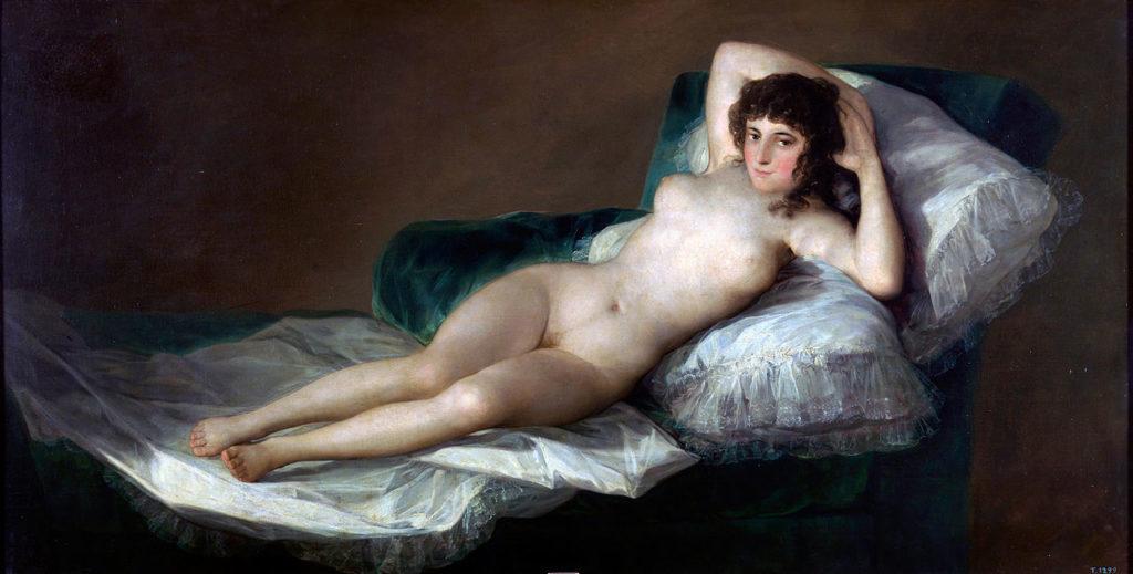 Goya's Naked Maja.