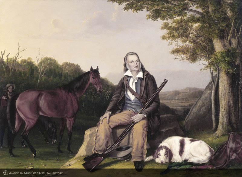 Portrait of Audubon by his sons.